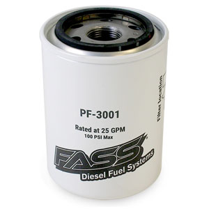 FUEL FILTER - FASS FUEL SYSTEMS - PF-3001
