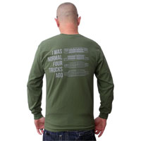 Geno's Garage - I Was Normal Four Generations Ago t-shirt
