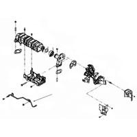 MOPAR 68038087AA EGR Back Pressure Sensor Tube