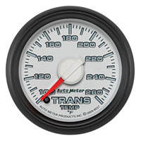TRANS TEMPERATURE GAUGE (100°-260° - FULL SWEEP)  AUTOMETER - 3RD GEN FACTORY MATCH
