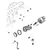 MOPAR 3941472 Vacuum Pump OIl Line Fitting