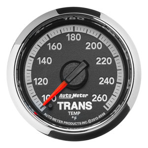 TRANS TEMP GAUGE (100-260 DEG - FULL SWEEP)  AUTOMETER - 4TH GEN FACTORY MATCH