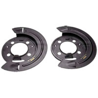 BRAKE DUST SHIELDS (REAR-DISC BRAKES) - DORMAN ('01-'08, 2500/3500 4WD)