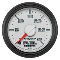 FUEL PRESSURE GAUGE, 30PSI  (ELECTRIC) - AUTOMETER - 3RD GEN FACTORY MATCH
