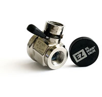 OIL DRAIN VALVE - METAL COVER - FINGER TOUCH (FTV-7B)