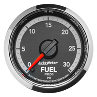 FUEL PRESSURE GAUGE, 30PSI  (ELECTRIC)  AUTOMETER - 4TH GEN FACTORY MATCH