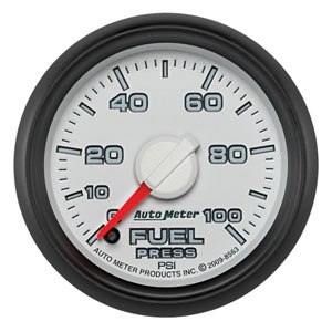 FUEL PRESSURE GAUGE, 100PSI (ELECTRIC) - AUTOMETER - 3RD GEN FACTORY MATCH