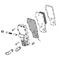 Cummins 3864458 Oil Cooler Gasket