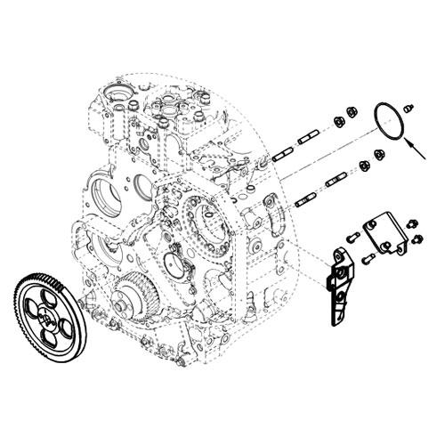 98 5-02 Dodge Diesel VP44 Pump to Gear Case O-ring - 3935032