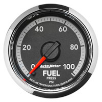 FUEL PRESSURE GAUGE, 100PSI (ELECTRIC)  AUTOMETER - 4TH GEN FACTORY MATCH