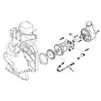 Cummins OEM 3925100 Vacuum Pump Oil Supply Line