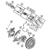 Dodge Ram Brake Rotor 2AMV2182AB