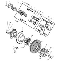 Dodge Ram Brake Rotor 2AMV1050AA