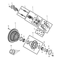 Dodge Ram Brake Rotor 2AMV2184AA