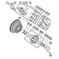 Dodge Ram Brake Rotor 2AMV0144AA
