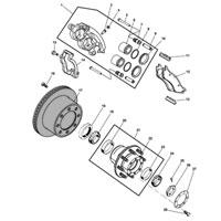 00-02 Dodge Ram MOPAR Rear Brake Rotor 2AMV9932AA