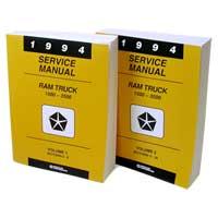 DODGE RAM FACTORY SERVICE MANUAL - PRINT ('94)