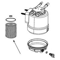 MOPAR Fuel Filter 68436631AA