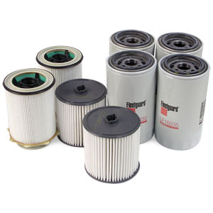 FILTER MAINTENANCE KIT - NO AIR FILTER ('19-'21, 6.7L)