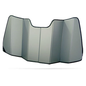 """SUN SHADE - COVERCRAFT - W/ SMALL 5"""" SENSOR ON REARVIEW MIRROR ('19 - '20, 1500, NOT '19 CLASSIC)"""