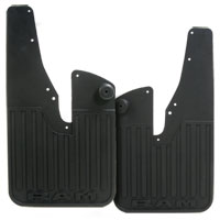 SPLASH GUARDS - MOPAR - HEAVY DUTY RUBBER - FRONT ('19, 2500/3500 W/OEM FLARES)