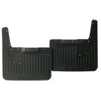SPLASH GUARDS - MOPAR - HEAVY DUTY RUBBER - REAR ('19, 2500/3500 DRW, W/OEM FLARES)