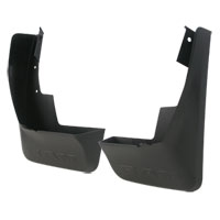 SPLASH GUARDS - MOPAR - REAR DELUXE MOLDED PLASTIC ('19, 1500 W/O FENDER FLARES / NOT CLASSIC MODEL)