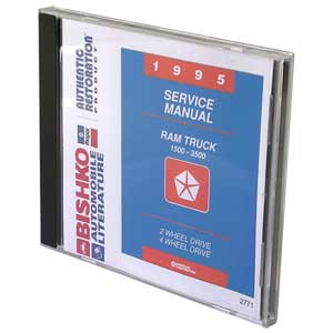 DODGE RAM FACTORY SERVICE MANUAL - CD ('95)