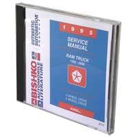 DODGE RAM FACTORY SERVICE MANUAL - CD ('95)
