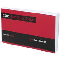 2005 OWNERS MANUAL (PRINT, DIESEL ONLY)