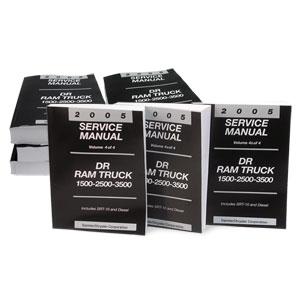 DODGE RAM FACTORY SERVICE MANUAL - PRINT ('05)