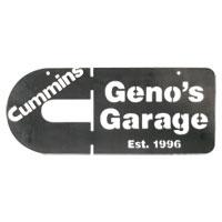 Geno's Garage Custom Cummins Year Established Sign
