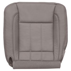 FACTORY-MATCH BOTTOM SEAT COVER (KHAKI) - LEATHER/VINYL - DRIVER SIDE BUCKET & 40/20/40 ('06-'09, LARAMIE 2500/3500, ALL CABS)
