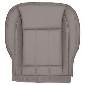 FACTORY-MATCH BOTTOM SEAT COVER (KHAKI) - LEATHER/VINYL - DRIVER SIDE BUCKET & 40/20/40 ('06-'08, LARAMIE 1500, ALL CABS)