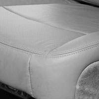 Dodge Ram Laramie Factory-Match Leather/Vinyl Driver Side Bottom Seat Cover