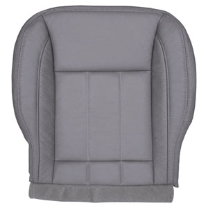 FACTORY-MATCH BOTTOM SEAT COVER (MEDIUM SLATE) - LEATHER/VINYL - DRIVER SIDE BUCKET & 40/20/40 ('06-'08, LARAMIE 1500, ALL CABS)