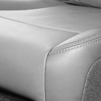 Dodge Ram Laramie Factory-Match Leather/Vinyl Driver Side Bottom Seat Cover