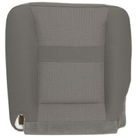 FACTORY-MATCH BOTTOM SEAT COVER (KHAKI) - CLOTH - DRIVER SIDE 40/20/40 & BUCKETS ('06-'09, 2500/3500 SLT, ALL CABS)