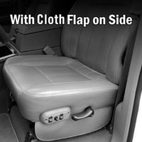 Dodge Ram SLT Factory-Match Bottom Seat Cover - Cloth Flap
