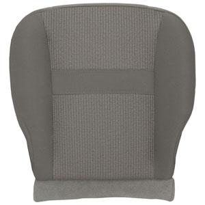 FACTORY-MATCH BOTTOM SEAT COVER (KHAKI) - CLOTH - DRIVER SIDE 40/20/40 & BUCKETS  ('06-'08, LARAMIE 1500, QUAD & REGULAR CABS)