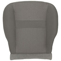 FACTORY-MATCH BOTTOM SEAT COVER (KHAKI) - CLOTH - DRIVER SIDE 40/20/40 & BUCKETS  ('06-'08, LARAMIE 1500, ALL CABS)