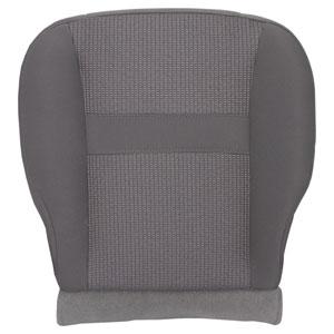 FACTORY-MATCH BOTTOM SEAT COVER (MEDIUM SLATE) - CLOTH - DRIVER SIDE 40/20/40 & BUCKETS  ('06-'08, LARAMIE 1500, QUAD & REGULAR CABS)