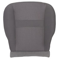 FACTORY-MATCH BOTTOM SEAT COVER (MEDIUM SLATE) - CLOTH - DRIVER SIDE 40/20/40 & BUCKETS  ('06-'08, LARAMIE 1500, QUAD & REGULAR CABS)