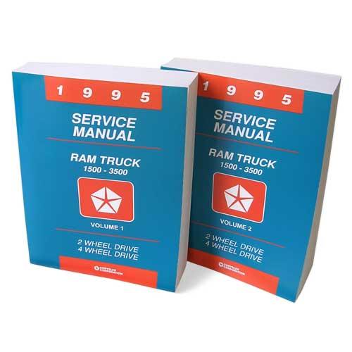 1995 Dodge Ram Factory Service Manual Print