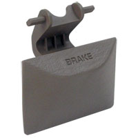 PARKING BRAKE RELEASE HANDLE - MOPAR ('03-'05, 2500/3500 & '02-'05, 1500) TAUPE
