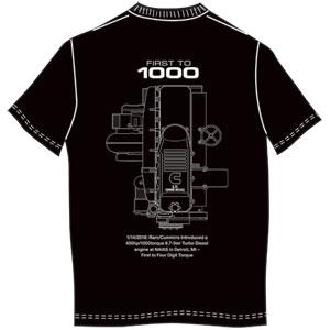T-SHIRT - 2019 6.7 ENGINE (BLACK)