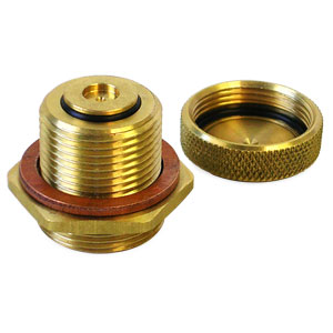 OIL DRAIN VALVE - NO SPILL - 22MM ('94-'01, 5.9L)