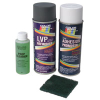 PAINT REFINISH KIT - CHRYSLER DARK MIST GRAY TRIM CODE C3- COLORBOND ('98-'02)