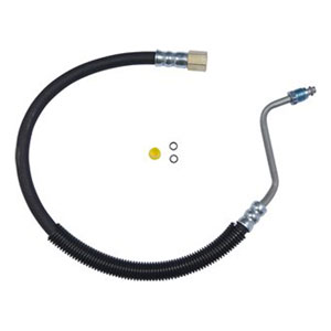POWER STEERING LINE ASSEMBLY, HYDROBOOST TO GEARBOX - GATES ('03-'08, 5.9L & 6.7L 4WD)