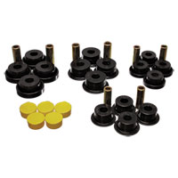 CONTROL ARM BUSHING SET - ENERGY SUSPENSION - FRONT - BLACK ('99-'02, 4WD 2500/3500 & '94-'99, 4WD 2500/3500)
